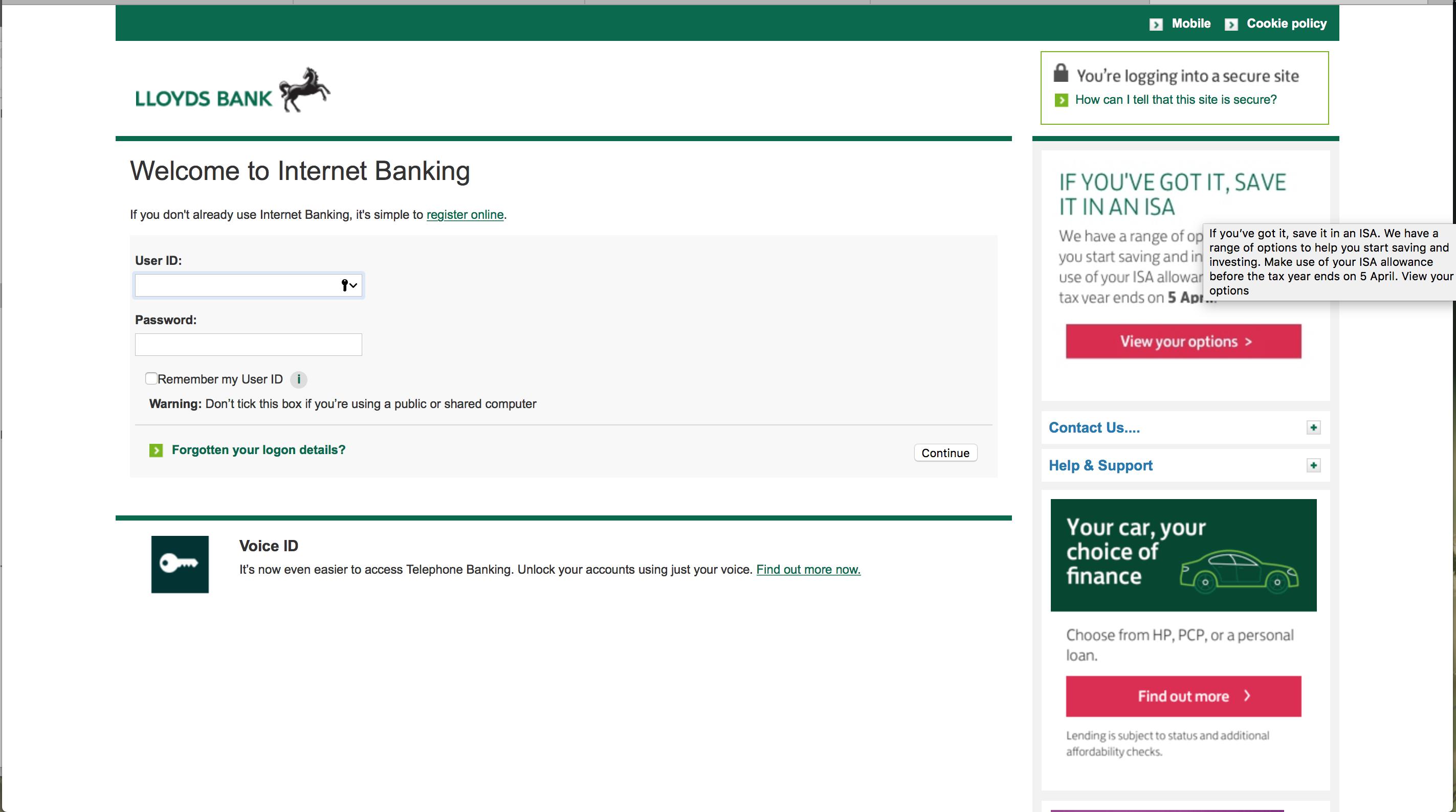 Lloyds Banking Group / TCS | danlobo co uk
