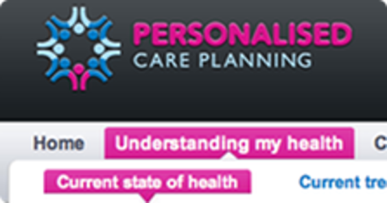 NHS Personal Care Planning